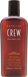 American Crew Daily Conditioner Mannen 250 ml Professionele haarconditioner