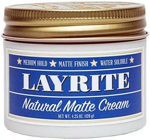 Layrite Natural Matte Cream Pomade