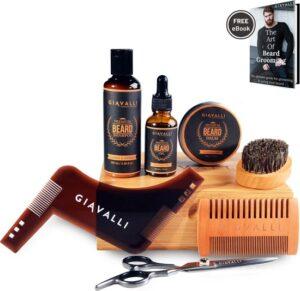 Baardset baard verzorging set van Giavalli