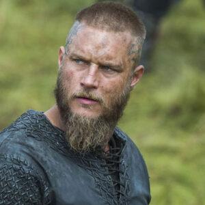 Ragnar Lothbrok haar en baard