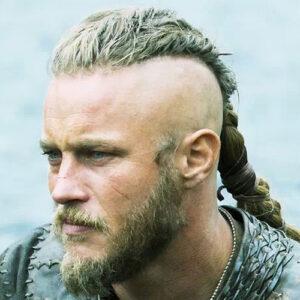 Ragnar Lothbrok kapasle gevlochten haar