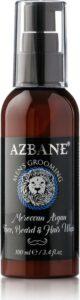Azbane Marokkaanse Argan Zeep voor Gezicht, Baard en Haar - 100 mL
