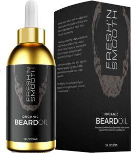 Fresh 'N Smooth Baardolie - Baardverzorging - Lange & korte Baard