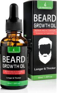 LB Products™ Baardgroei Olie - Baardolie - Baard groei middel - Baardhaar - Baardgroei stimuleren