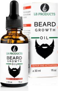 LB Products Baardgroei Olie™ - Baardolie - Baard groei - Baardgroei stimuleren - Versnellen - Vanille