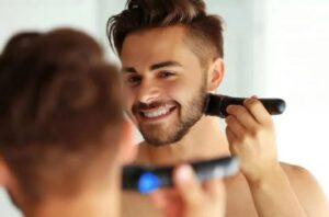 professionele baardtrimmer gebruiken