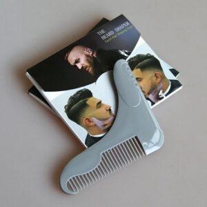 2 in 1 Baard in vorm scheren en kam - Kammen - Haren trimmen - Fashion - Men - Style - Haircut