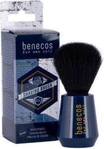 Benecos For Men Only Shaving Brush - scheerkwast