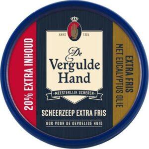 De Vergulde Hand Scheerzeept. Extra Fris 75 gr.+20% exta inh