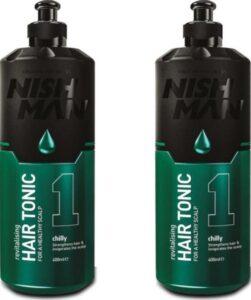 Nish Man Hair Tonic- 400 ml- 2 Stuks