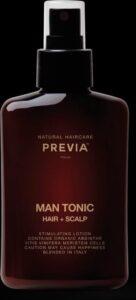 Previa Natural Haircare Man Man Tonic Hair + Scalp Spray Haar-hoofdhuid 150ml