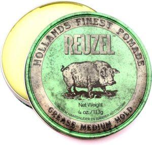 Reuzel Hf Pomade Grease Medium Hold - Green 340 gr