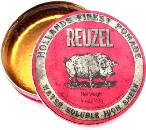 Reuzel Hf Pomade Water Soluble High Sheen - Red 113 gr