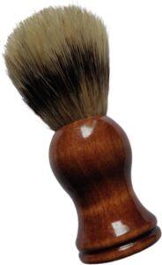 Scheerkwast BLINQZ met stevige aangename haren – voor een optimale verdeling van scheerschuim, scheercrème en scheerzeep