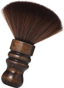 Scheerkwast BLINQZ met zachte soepele haren – voor een optimale verdeling van scheerschuim, scheercrème en scheerzeep