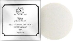 Taylor of Old Bond Str. scheerzeep Platinum Collection navulling 100gr
