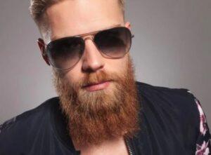 Het proces van het groeien van een baard