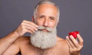 Methoden om de baard van roos te ontdoen - gebruik baardbalsem