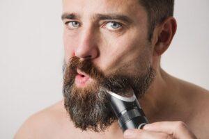 scheerapparaat voor zware baardgroei