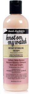 Aunt Jackies Curls & Coils Knot On My Watch Instant Detangling Therapy