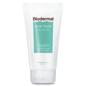 Biodermal Face wash - Milde gezichtsreiniger en make-up remover
