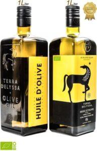 Biologische Olijfolie fles