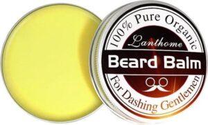 Natuurlijke baard en snor balsem voor mannen, voedend en hydraterend, argan olie