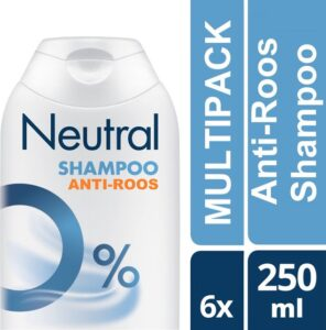 Neutral Parfumvrij - 6 x 250 ml - Anti-Roos Shampoo