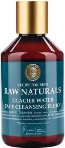 RAW Naturals Glacier Water Face Cleansing Fluid