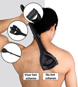 Rug Scheermes - Je eigen Rug Scheren - Ontharing - Rughaar verwijderen - Back shaver - Rug Gear - Ruggear