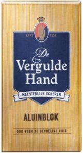Vergulde Hand Aluinblok 75 Gr