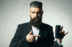 drinken met baard