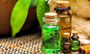 flessen essentiële oliën