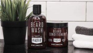 scotch portier baard wassen en conditioner