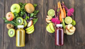 vitamine smoothies met groenten en fruit