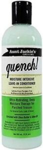 Aunt Jackies Curls & Coils Quench Moisture Intensive Leave in Conditioner