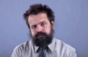 scruffy baard