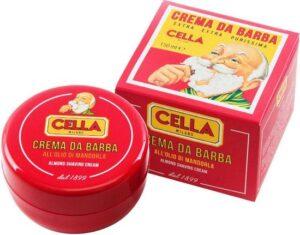 Cella Milano scheercrème Amandel 150ml