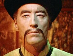 Fu Manchu snor