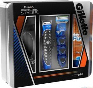 Gillette Fusion Proglide Scheerset - Styler + Scheermes + Scheergel
