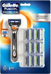 Gillette Fusion Proglide scheerapparaat voor mannen Grijs, Oranje