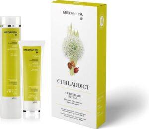 Medavita Curladdict natuurlijke shampoo voor krullen 250ml en conditioner 150ml