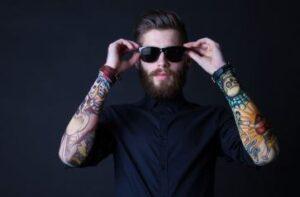hipster baard