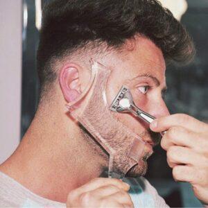 Baardvorm – Scheer baard altijd in de juiste vorm – Doorzichtig