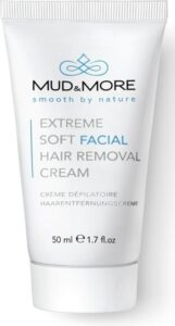 Mud & More Extreme Soft Facial Hair Removal Cream Ontharingscrème