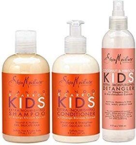 SheaMoisture Mango & Wortel KIDS Extra-voedende shampoo en conditioner